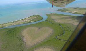 New Caledonia Heart plane