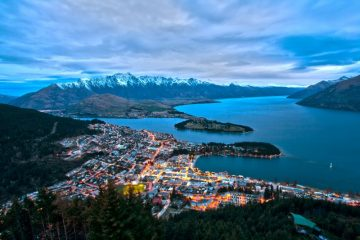Queenstown feature image - cities for adventure