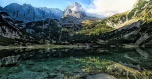 Austrian Alps Zugspitz - beautiful places to go hiking in europe