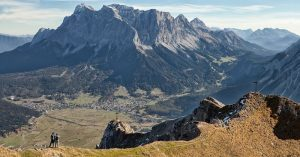 austria-alps-zugspitz - beautiful places to go hiking in europe