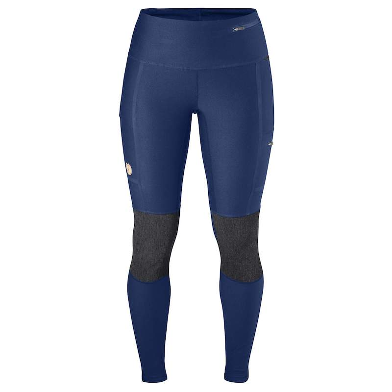 Fjallraven Women's Abisko Trekking Tights deep blue