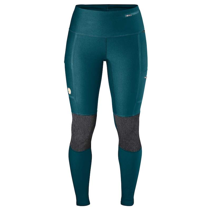 Fjallraven Women's Abisko Trekking Tights glacier green