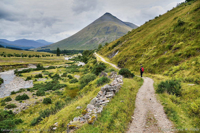 how to walk the West Highland Way in Scotland