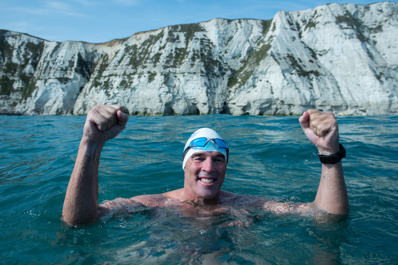 Lewis Pugh English Channel