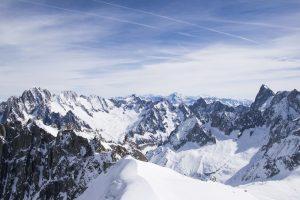 Mont Blanc the Alps