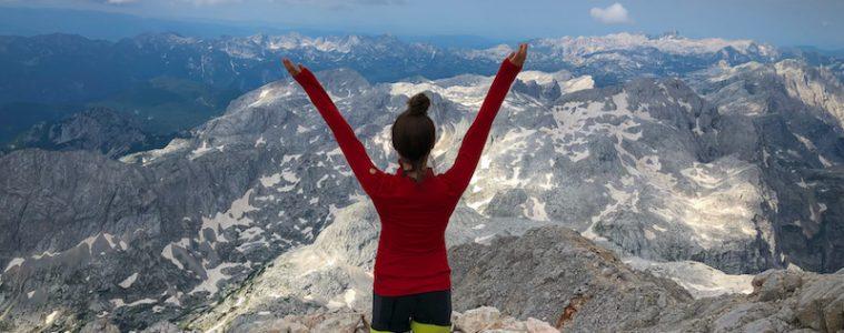 Mount Triglav summit
