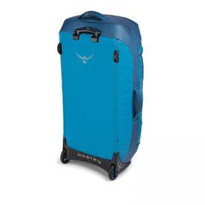 Osprey Rolling Transporter 120 Kingfisher blue back