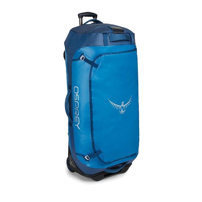 Osprey Rolling Transporter 120 Kingfisher Blue front