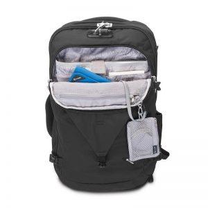 Pacsafe Venturesafe Anti-Theft 45L Travel Pack pockets