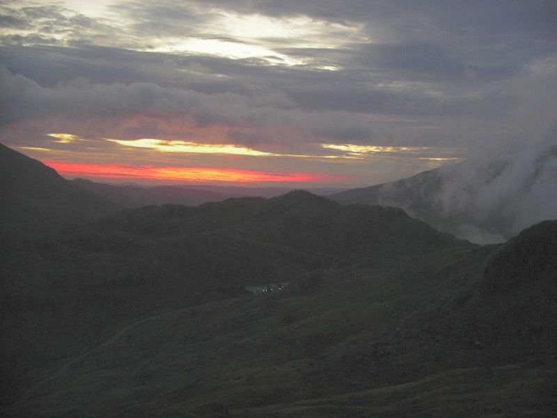 pen y pass sunrise night walks