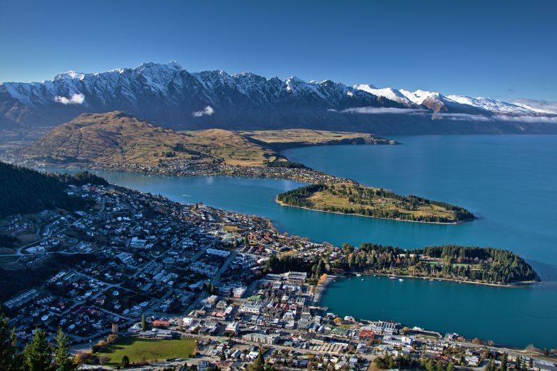 Queenstown - cities for adventure