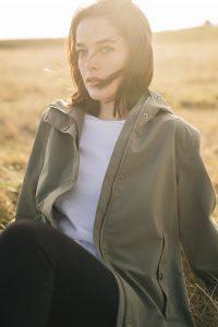 Rock Holly Short Jacket Olive