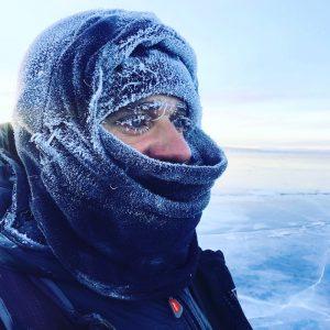 sub zero temperatures Mongolia