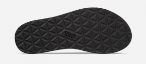 Teva Midform Universal Sandals Black under sole