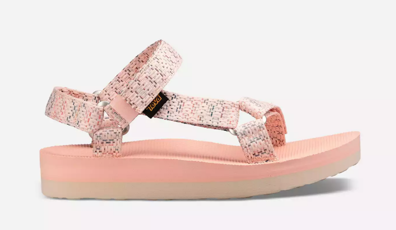 Teva Midform Universal Sandals Chacha Tropical Peach