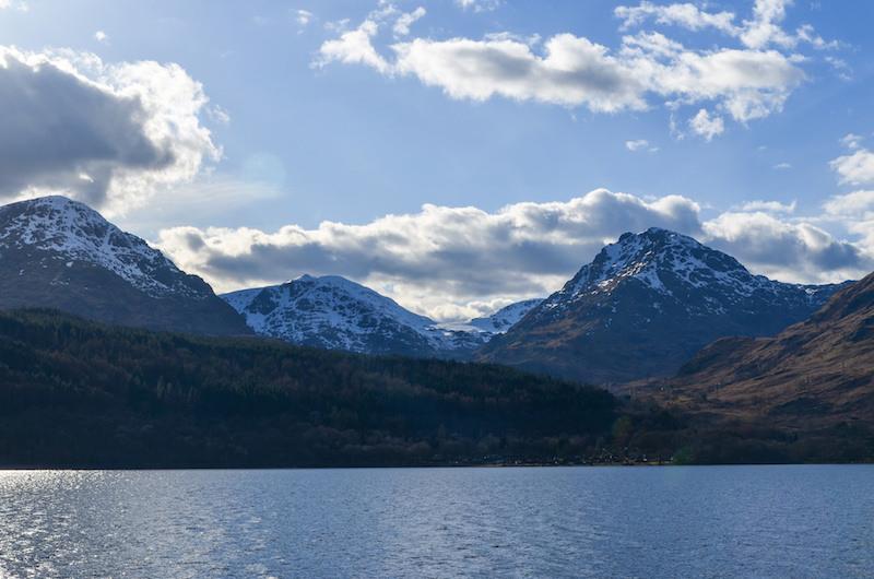 Trossachs Loch Lommond Inversnaid