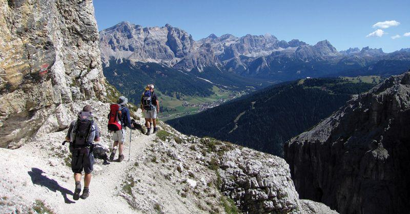 Dolomites - beautiful places to go hiking in europe