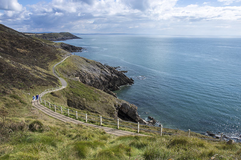 the gower way - swansea bay walks