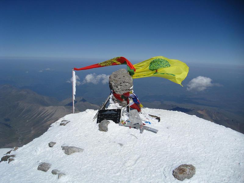Mount Elbrus summit
