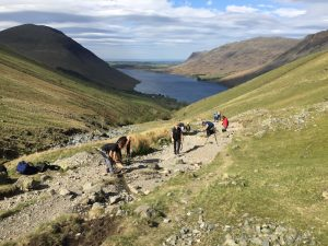 mend our mountains crowdfunding campaign