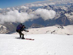 ski mount elbrus europe's highest mountain