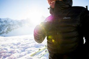 Sub Zero Hooded Lightweight Insulated Down Jacket
