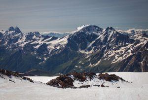 mount elbrus in russia - europe's highest mountain