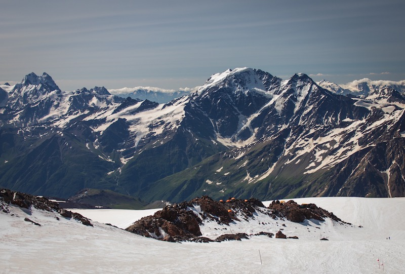 mount elbrus in russia - europe's highest mountain