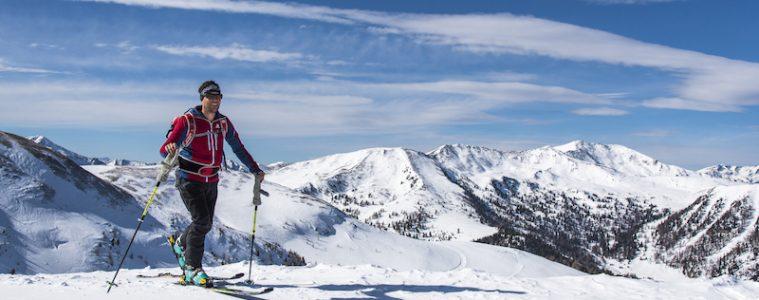 Skiing the Nockberge Trail