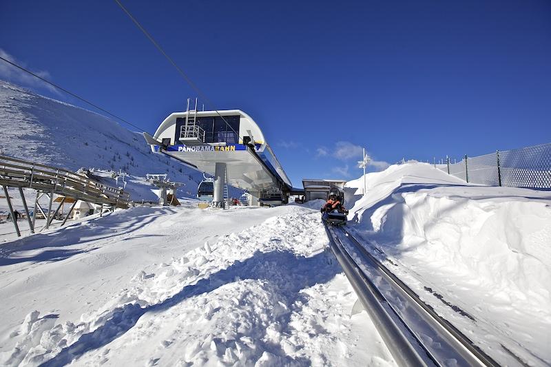 Turracher Höhe - best ski resorts in austria - nocky flitzer toboggan