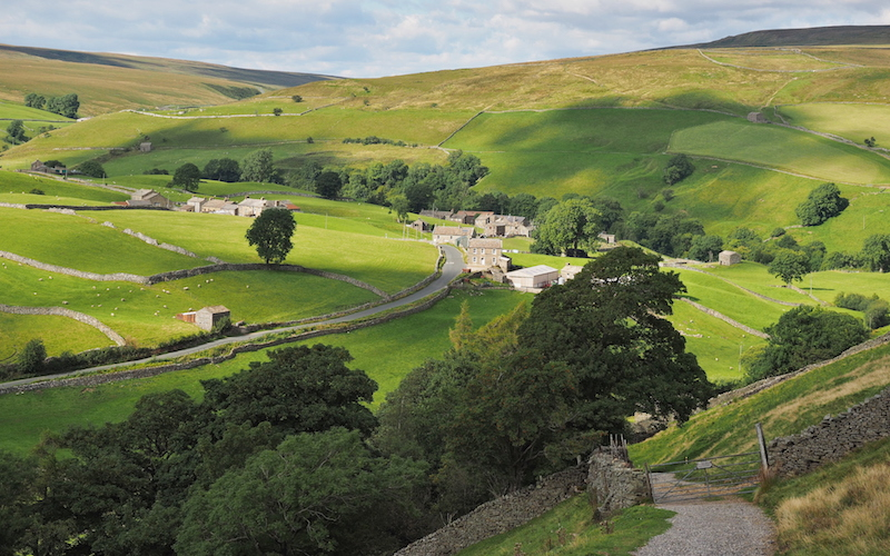 best yorkshire dales walks Keld