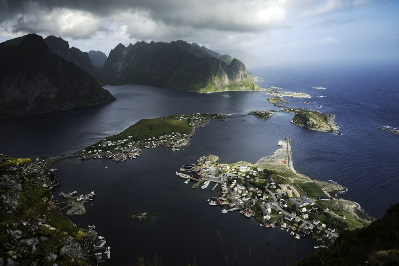reinebringen mountain, lofoten islands - best hikes in norway
