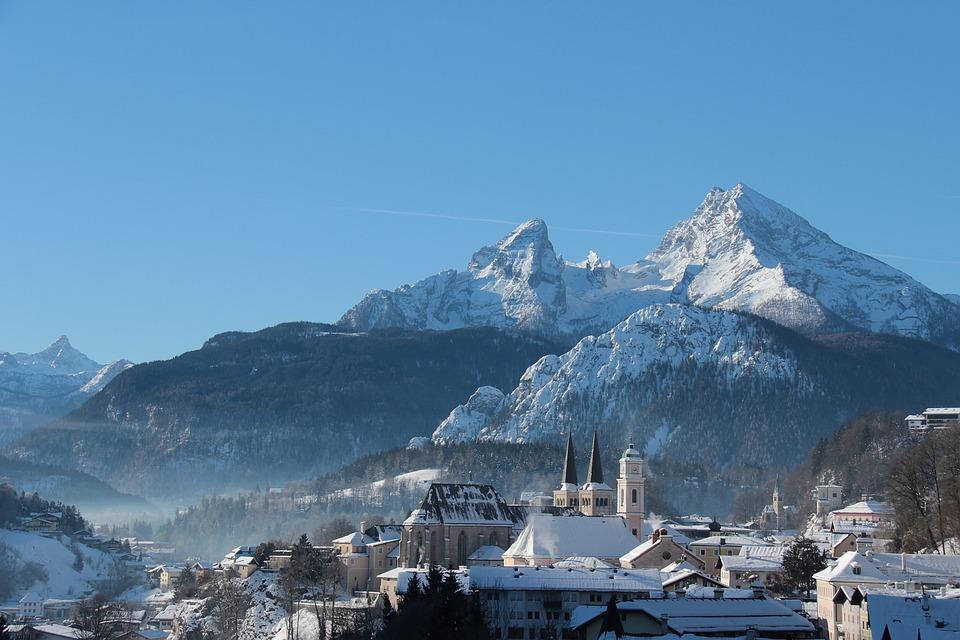 Berchtesgaden Bavaria Winter Dream
