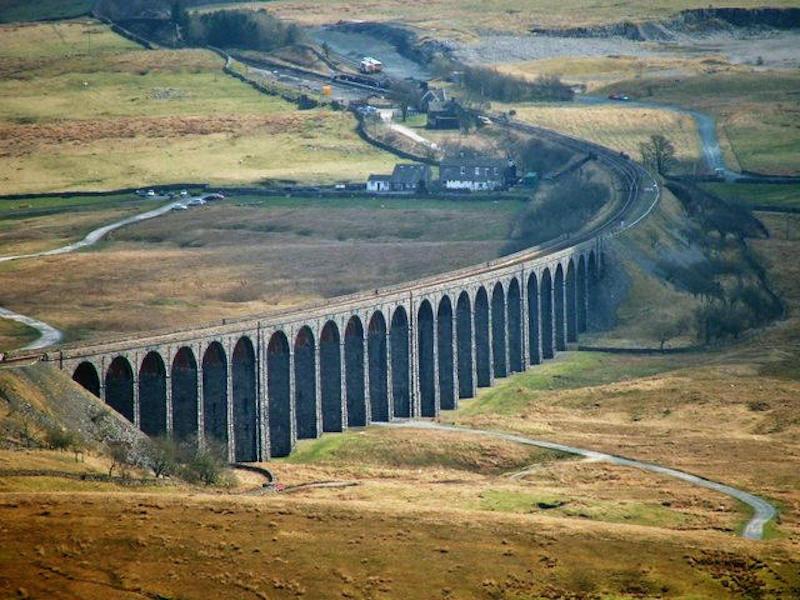 Ribblehead viaduct - best yorkshire dales walks