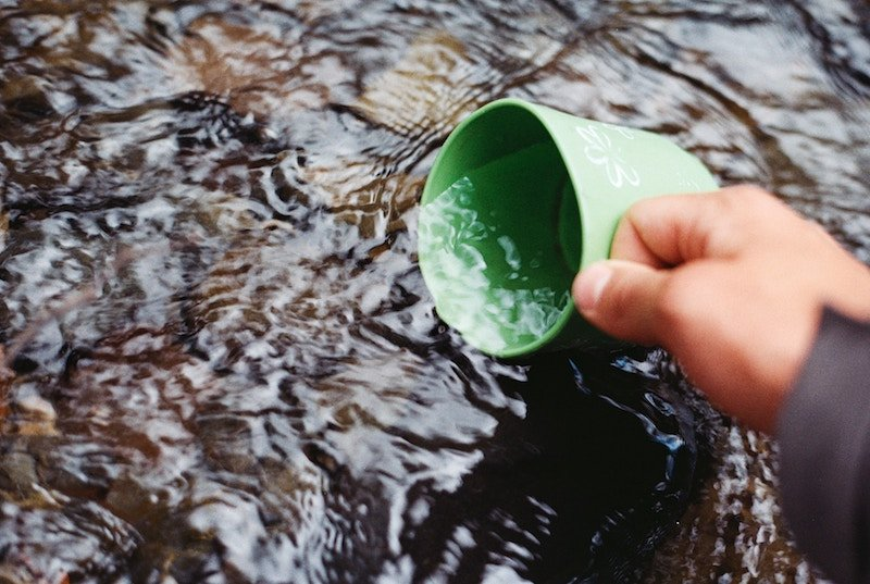 Survival skills finding water and purifying it