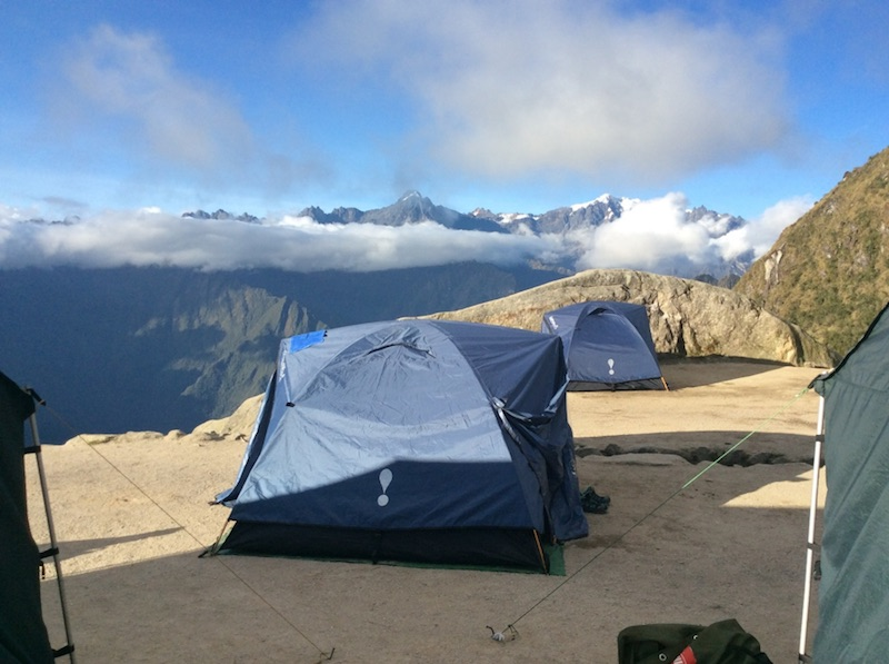 camp at luxury inca trail- chossng the best machu picchu trek