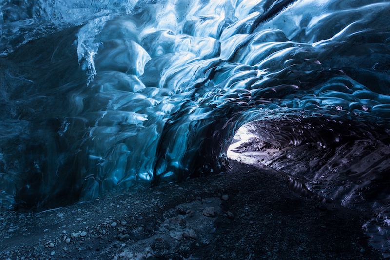 ice caves in iceland - best hiking in Iceland