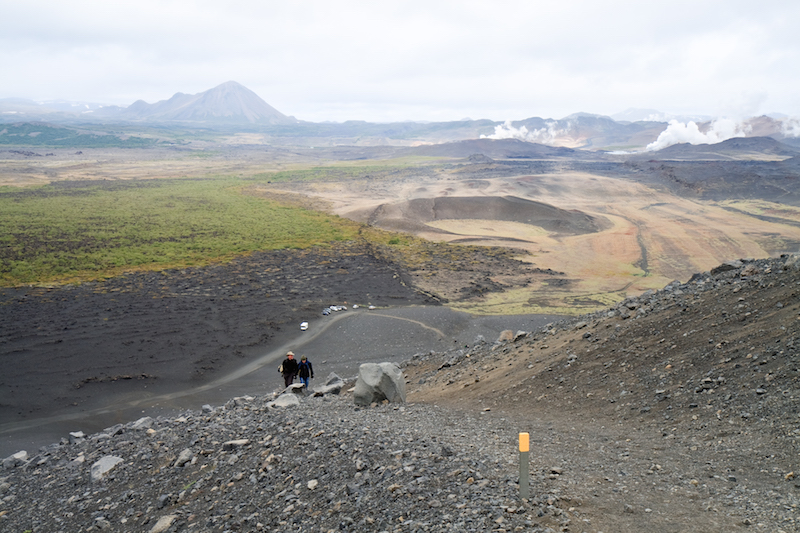 Hverfjall Crater Rim Trail - best hiking in Iceland