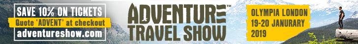 Adventure Travel Show Banner 1