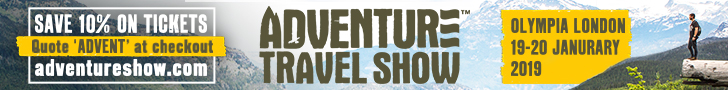 Adventure Travel Show Banner 1