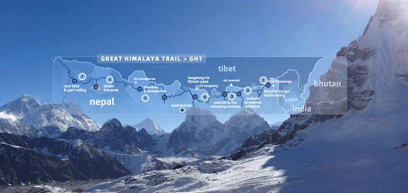 great himalaya trail - world's most classic hikes