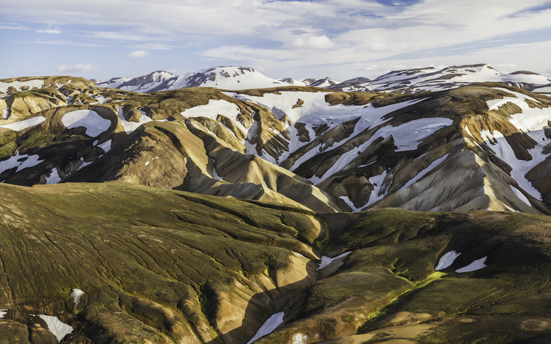 On the Laugavegur Trek - best hiking in Iceland