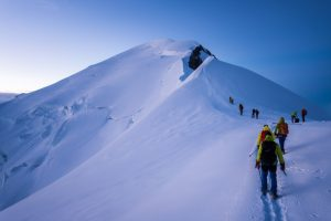 what it's really like to climb mont blanc
