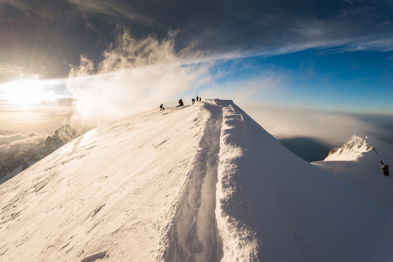 what it's really like climb mont blanc