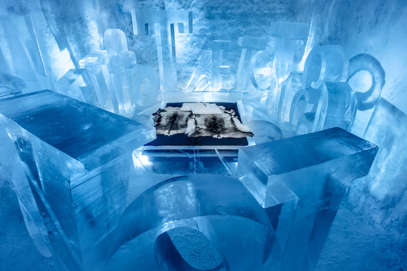 icehotel sweden - winter adventures