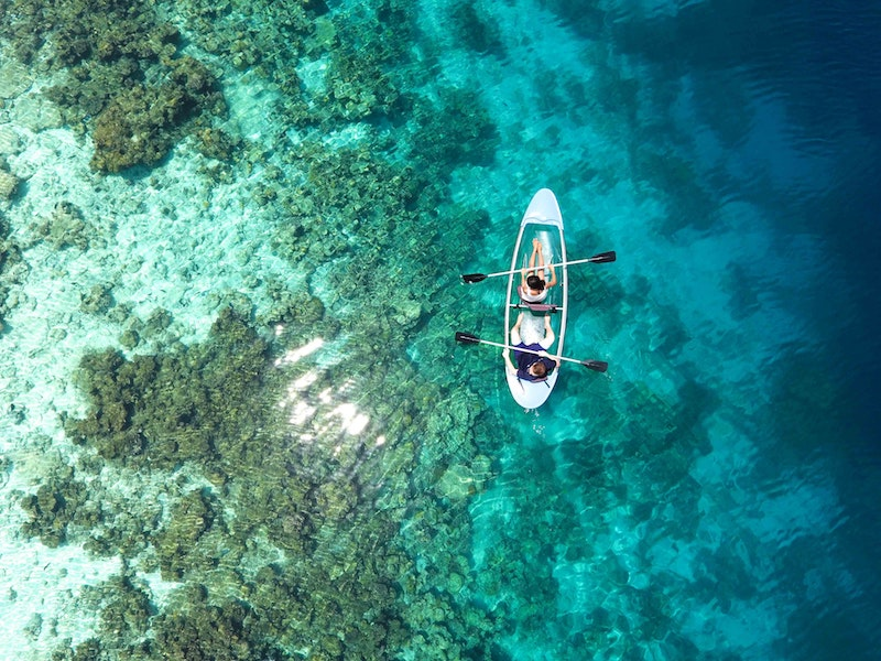 sea kayak most adventurous things to do in Maldives