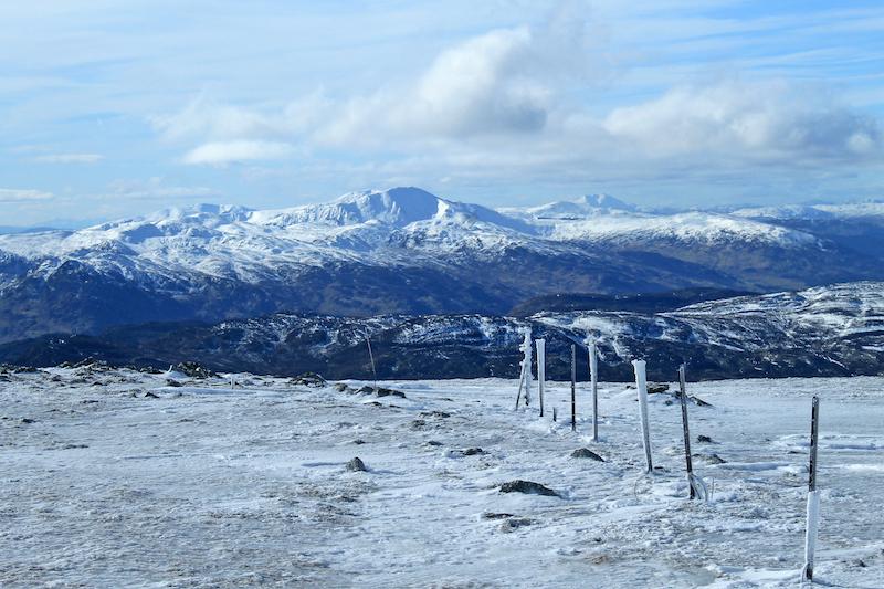 ben chonzie - best cold weather walks in scotland