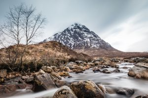 Buachaille Etive Mòr - best cold weather walks in scotland