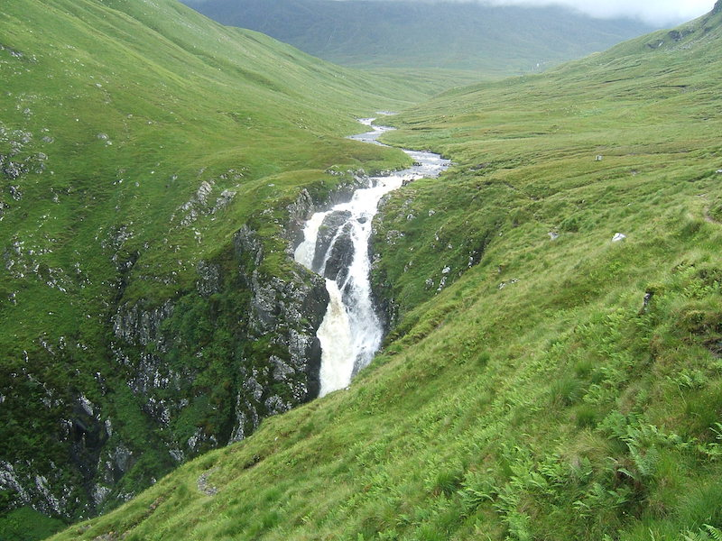 falls of glomach - best cold weather walks in scotland