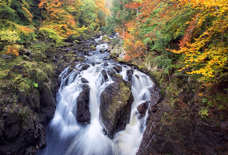 the hermitage perthshire - best cold weather walks in scotland